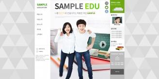 디자인코드 edu1003 홈페이지시안
