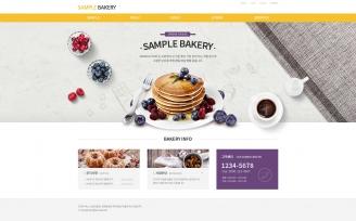 디자인코드 food1012 홈페이지시안