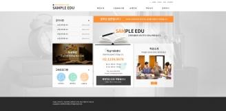 디자인코드 edu1015 홈페이지시안
