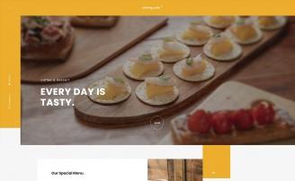 홈페이지디자인 food1020코드