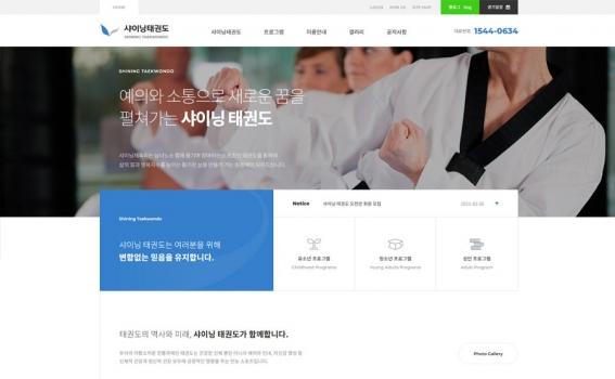 taekwondo1001 무료디자인 샘플