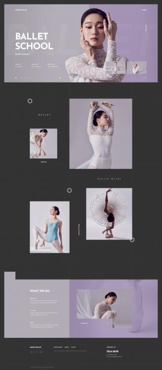 디자인코드 lei1015 홈페이지시안