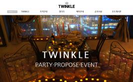 TWINKLE 홈페이지제작 사례