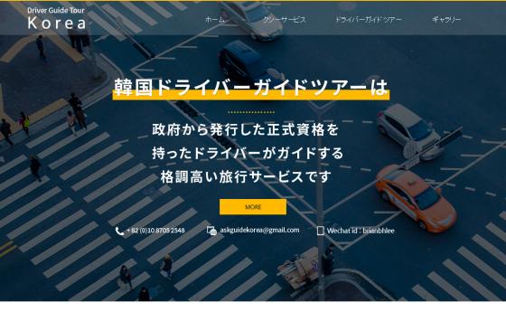 한국드라이버가이드투어(일본어)